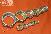 Гайка ГОСТ 13957-74(гайка накидная для соединений трубопроводов по наружному конусу)