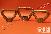 Гайка-барашек М12 ОСТ 5.9306-79, гайка барашек закрытого типа, гайка барашек из латуни