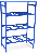 Стеллаж для хранения питьевой воды в баллонах РВС-06o