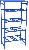 Стеллаж для хранения питьевой воды в баллонах РВС-08o