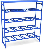 Стеллаж для хранения питьевой воды в баллонах РВС-16o