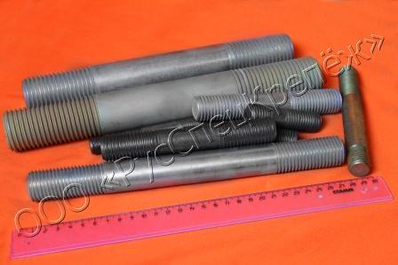 Шпилька ГОСТ 22040-76(с ввинчиваемым концом длиной 2,5d). Класс точности В