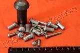 Заклёпки с плоской головкой повышенной точности ГОСТ 14801-85