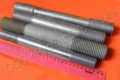 ГОСТ 22035-76 Шпильки с ввинчиваемым концом длиной 1,25d класс точности А.