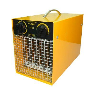 Тепловентилятор РУБИН ТВ – 3.0/2.5 ТП ( тепловое оборудование )