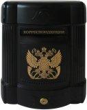 Почтовые ящики из пластика Соколоff Престиж (черный золото)