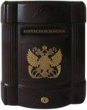 Почтовые ящики из пластика Соколоff Элегантность (коричневый золото)