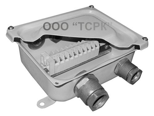 КЗНС08 Коробка ответвительная с зажимами и сальниками                             КЗНС 08(М) IP65