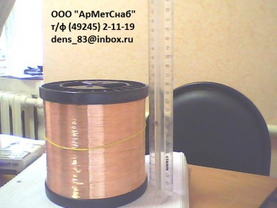 Медная электротехническая проволока ММ, МТ ТУ16-705.492-2005