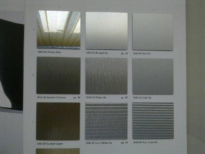 Панель Kronospan®  metallic interior hpl - натуральный металл на основе hpl. Натуральные металлы нан