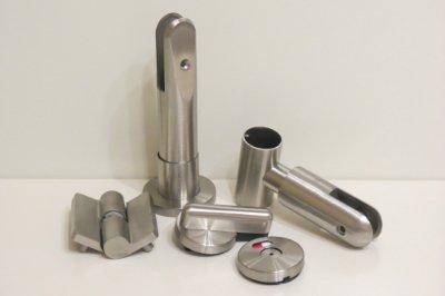 Регулируемая ножка опора нержавеющая для монтажа кабин и сантехнических из пластика hpl или ЛДСП
