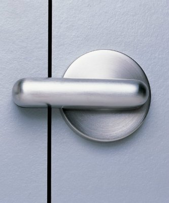 Дверной замок флажок нержавеющий с индикатором занятоскти, для дверей из пластика hpl или ЛДСП склад