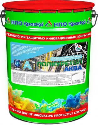 Полиуретол Аква - быстросохнущая грунт-эмаль для металла без запаха