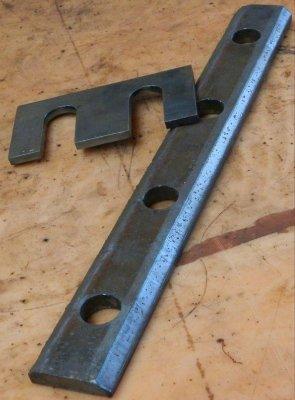 Крановая накладка КР70, КР80 (фрезерованная)