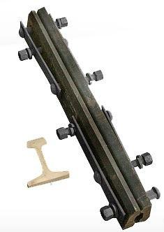 Изолирующий стык АпАТэК Р65   6 отверстий