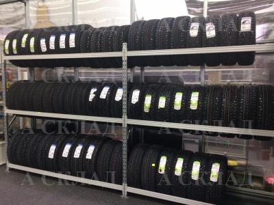 Стеллажи для хранения автомобильных колес